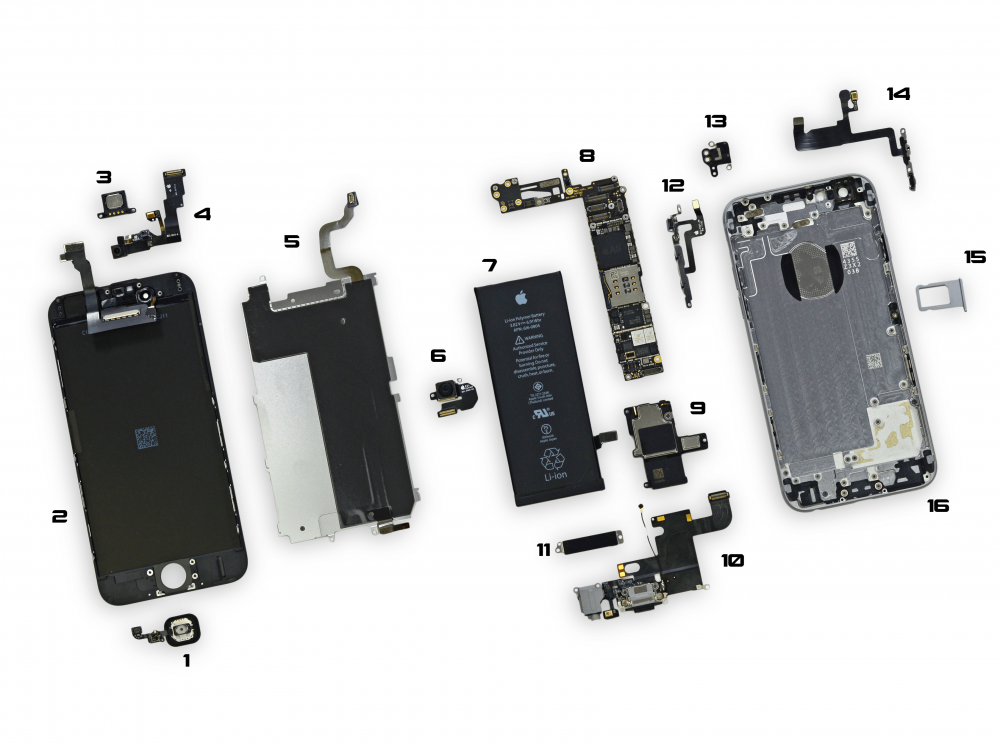 the best attitude 161a3 12866 Apple iPhone 6s Plus Other Parts Repair / Replacement Service