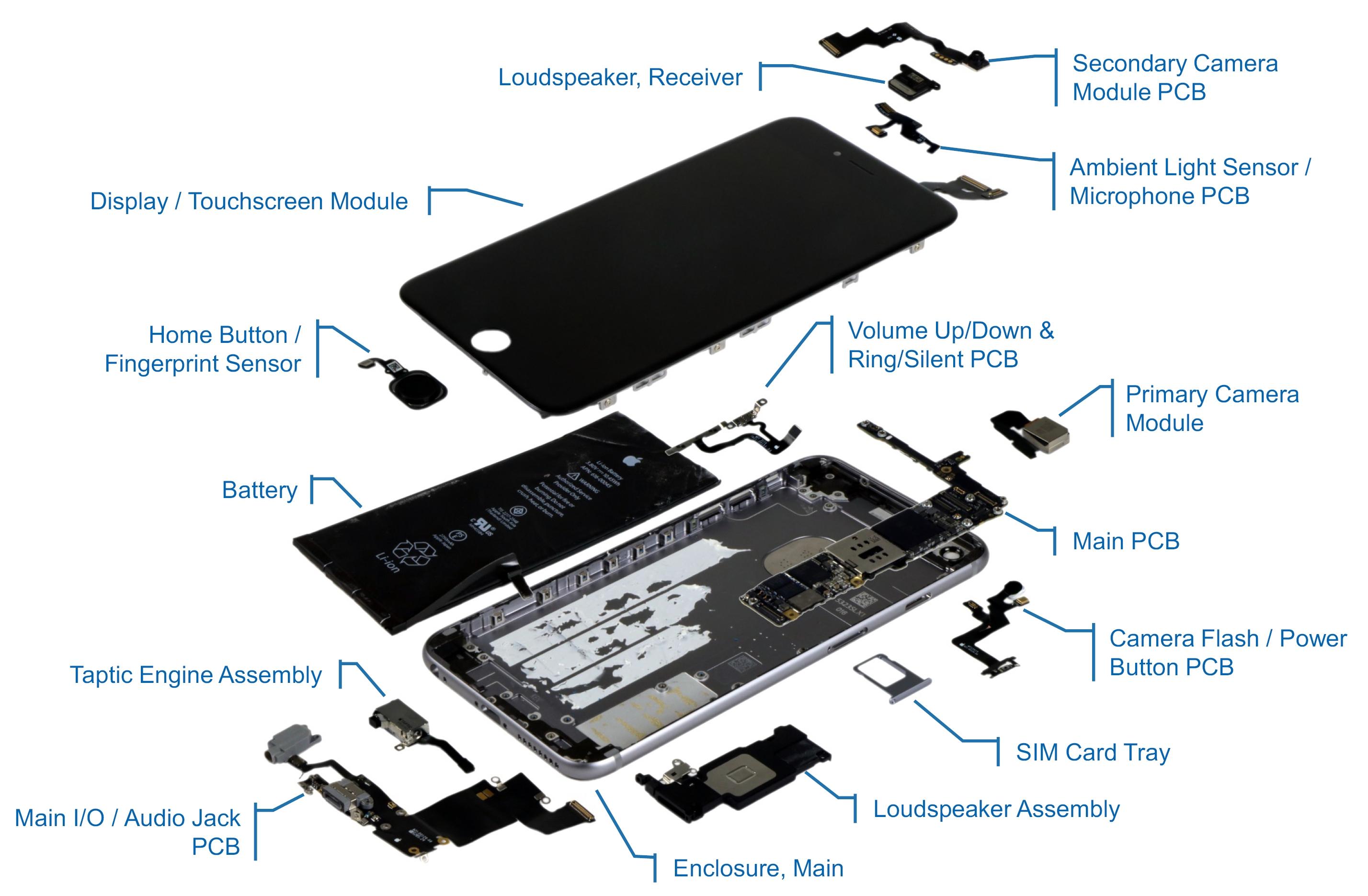 iphone 6s plus parts